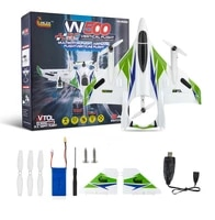 wlzx w500 2 4g 6ch brushless rc glider airplane with 6g self stabilized flight mode and 3d stunt rtf right hand throttle