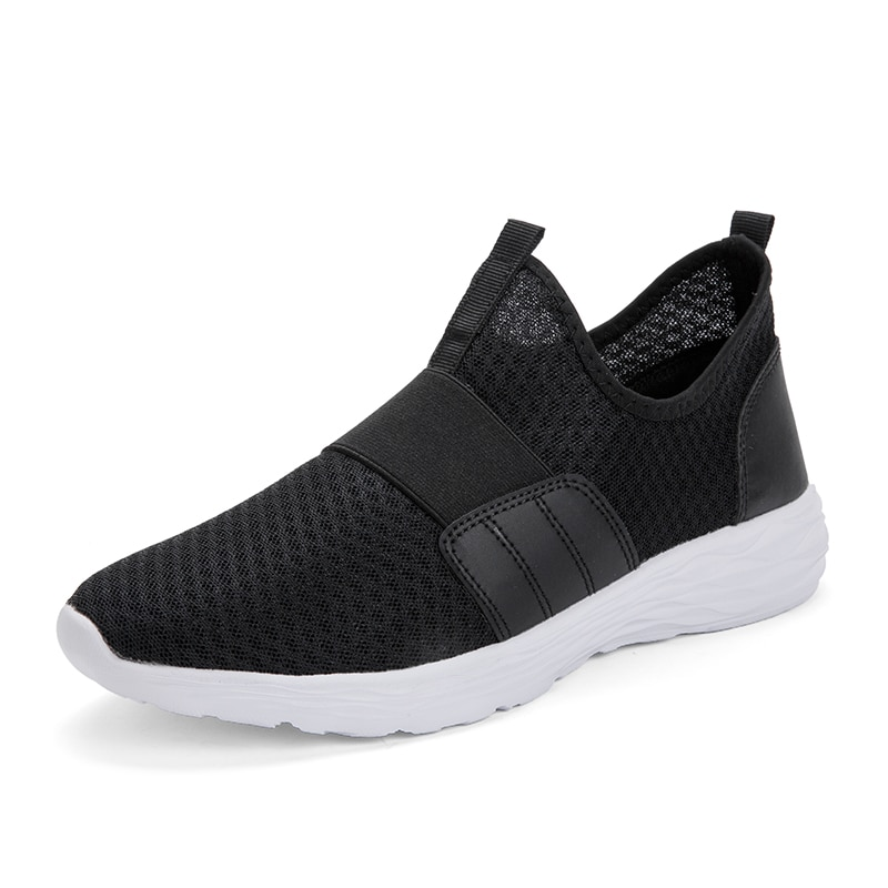 Кроссовки мужские сетчатые для прогулок, удобные легкие сникерсы, дышащие, мягкая обувь на плоской подошве, для летнего сезона 2021 кроссовки мужские сетчатые дышащие легкие повседневные удобные сникерсы для прогулок