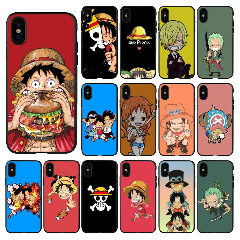 Super cute cartoon sea thief king Black TPU Soft Phone Cover for iPhone 11 pro XS MAX 8 7 6 6S Plus X 5 5S se 2020 XR case