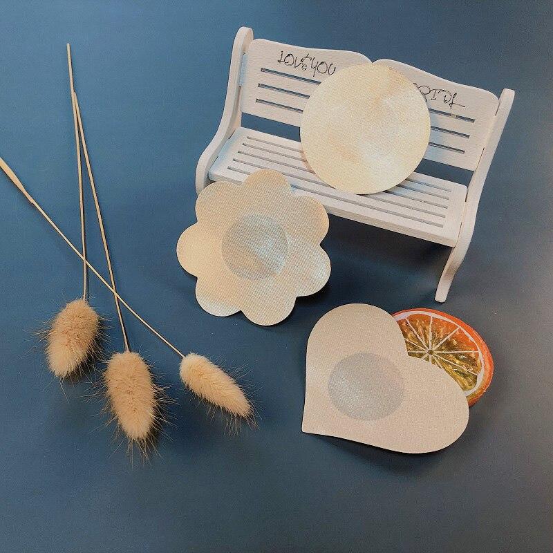 5 пар подушечек для бюстгальтера многоразовые самоклеющиеся силиконовые накладки для бюстгальтера прокладки для груди наклейки на грудь с лепестками невидимая накладка на сосок интимное белье