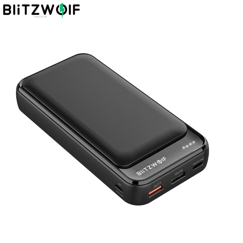 BlitzWolf BW-P11 20000 mAh - PD + QC3.0