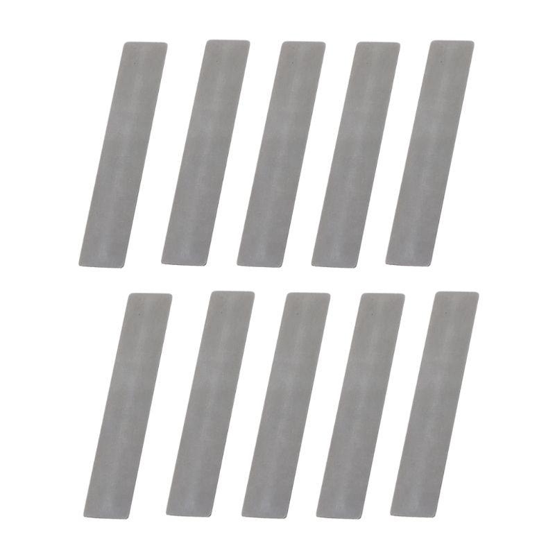10 unids/lote para válvula de compresor de pistón placa de válvula de alta calidad 11*57mm junta de metralla compresor de aire papel de repuesto L69A