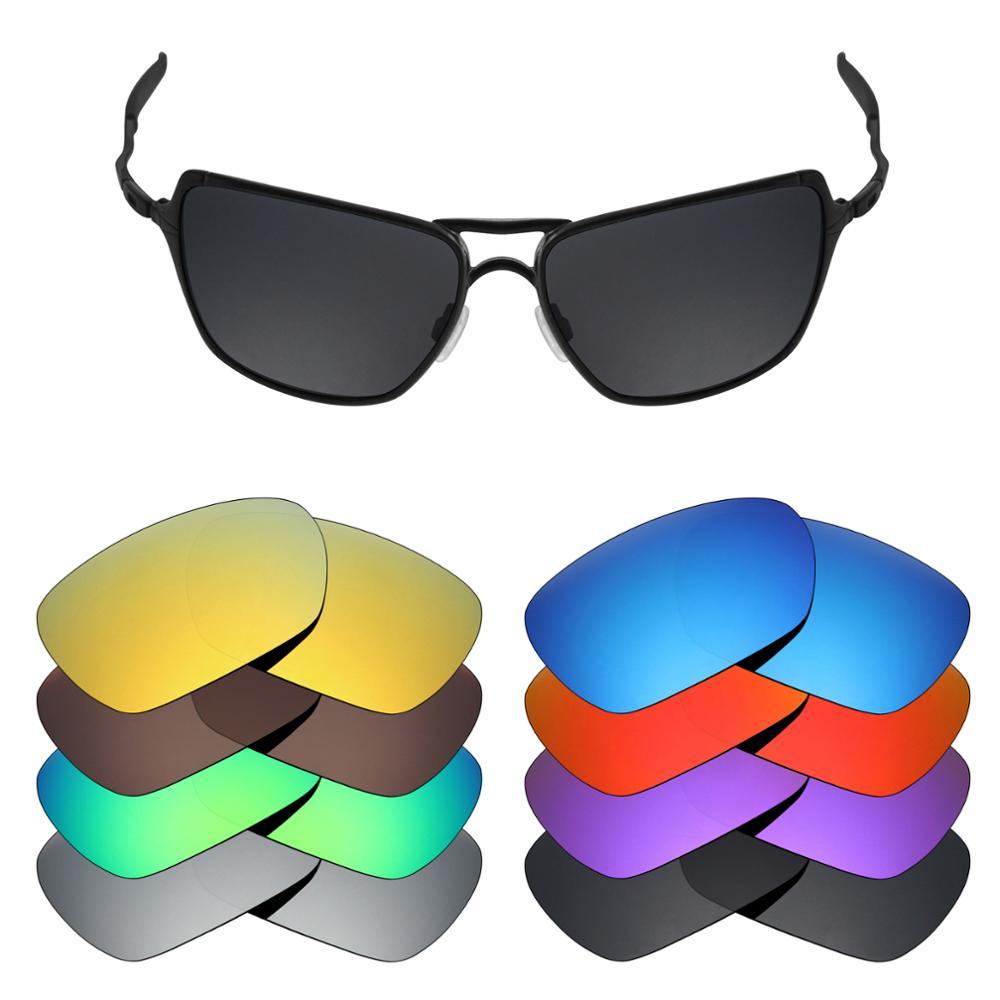 Lentes de substituição polarizadas mryok para-lentes de óculos de sol oakley recluso (lente somente)-várias opções