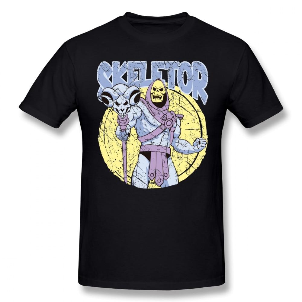 Футболка со скелетором, футболка со скелетором, забавная футболка с коротким рукавом, рубашка с графическим рисунком, мужская пляжная хлопковая футболка для парня, дизайнерская уличная одежда в стиле панк