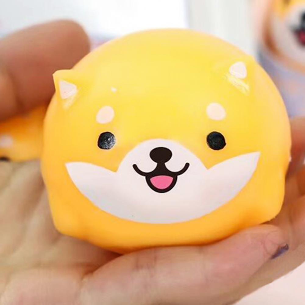 Симпатичные сжимаемые игрушки для снятия стресса в форме Шиба-ину для детей