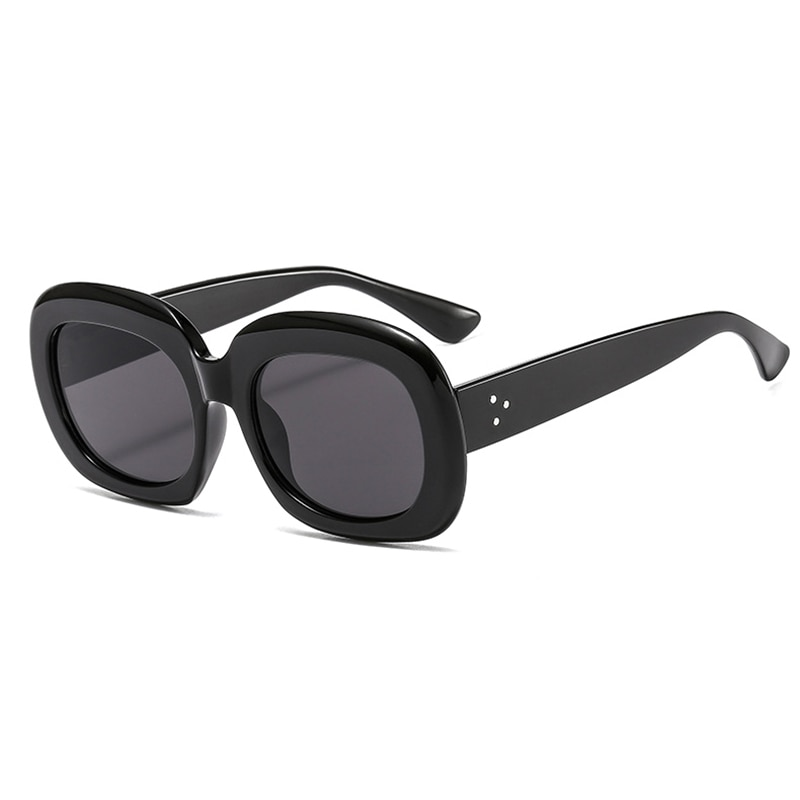 2021 New Brand Designer Women Rectangle Vintage Sunglasses Retro Points Sun Glasses Female Lady Eyeg