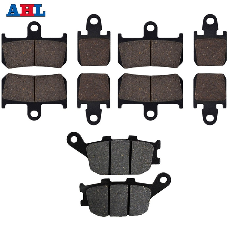 Motorcycle Front Rear Brake Pads For YAMAHA STREET BIKES YZF R1 YZFR1 2007 2008 2009 2010 2011 2012