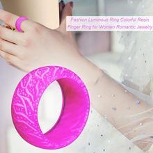 Новинка 2020, светящееся кольцо, романтическое украшение, подарки, унисекс, пара, темные кольца для женщин, кольца для друзей, Прямая поставка D7O1