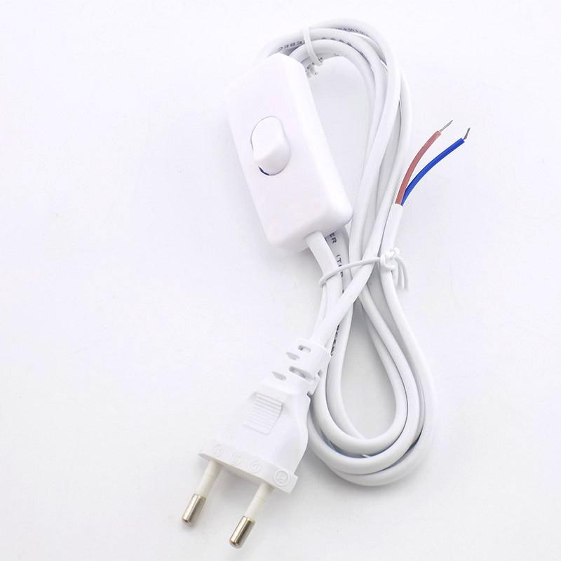 Eclectic-Adaptador de Cable de extensión europeo, 1,8 m, 110v-200v, CA Cable de...