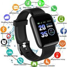 D13 uomo donna Smart Watch pressione sanguigna Smartwatch impermeabile cardiofrequenzimetro Fitness Tracker orologi sportivi 116 Plus PK Y68