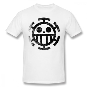 Trafalgar Law T Shirt Law Dirty Style T-Shirt Printed Man Tee Shirt Classic Cute Oversize Cotton Short Sleeve Tshirt