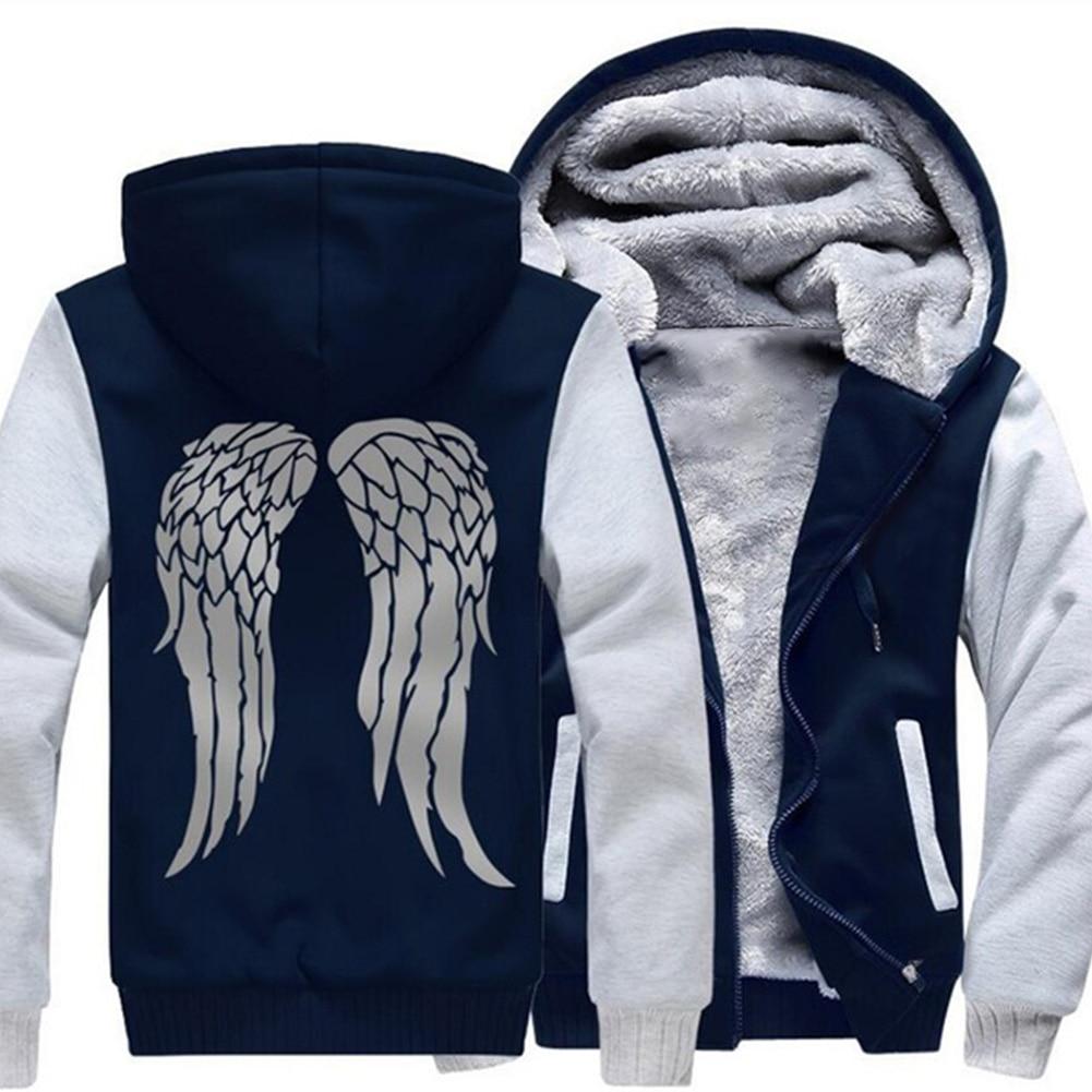 Chaqueta gruesa de terciopelo con capucha abrigada de invierno para hombres chaqueta mullida con capucha para exteriores
