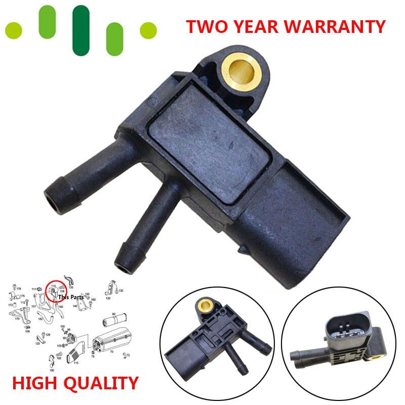 DPF Abgas Luftdruck Sensor Für Mercedes-Benz Benz W164 W211 W220 W221 EINE B C E G M R S-CLASS SLK viano Sprinter Smart Fortwo