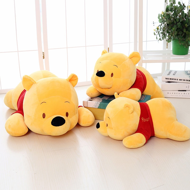 35cm plush toys the simpsons family bart son daughters lisa cartoon movie doll peluche stuffed plush toys gifts for children Winnie the Pooh Plush Dolls Toy Cartoon Pooh Stuffed Toys peluche Toy Gifts for Children