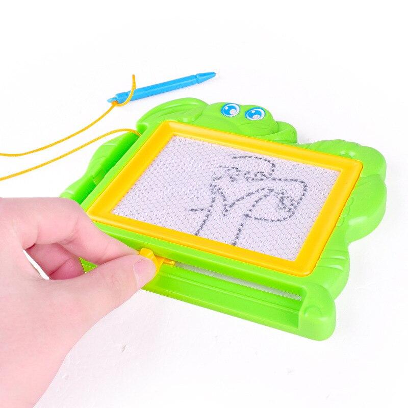 16*12.5cm placa de desenho magnético esboço almofada doodle escrita pintura graffiti arte crianças brinquedos educativos aprendizagem placa