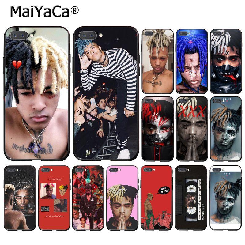 MaiYaCa Hip-hop cantante XXXTentacion funda del teléfono para Huawei Honor 8X 9 10 20 Lite 7A 5A 7C 10i 8C 7A 9XPro