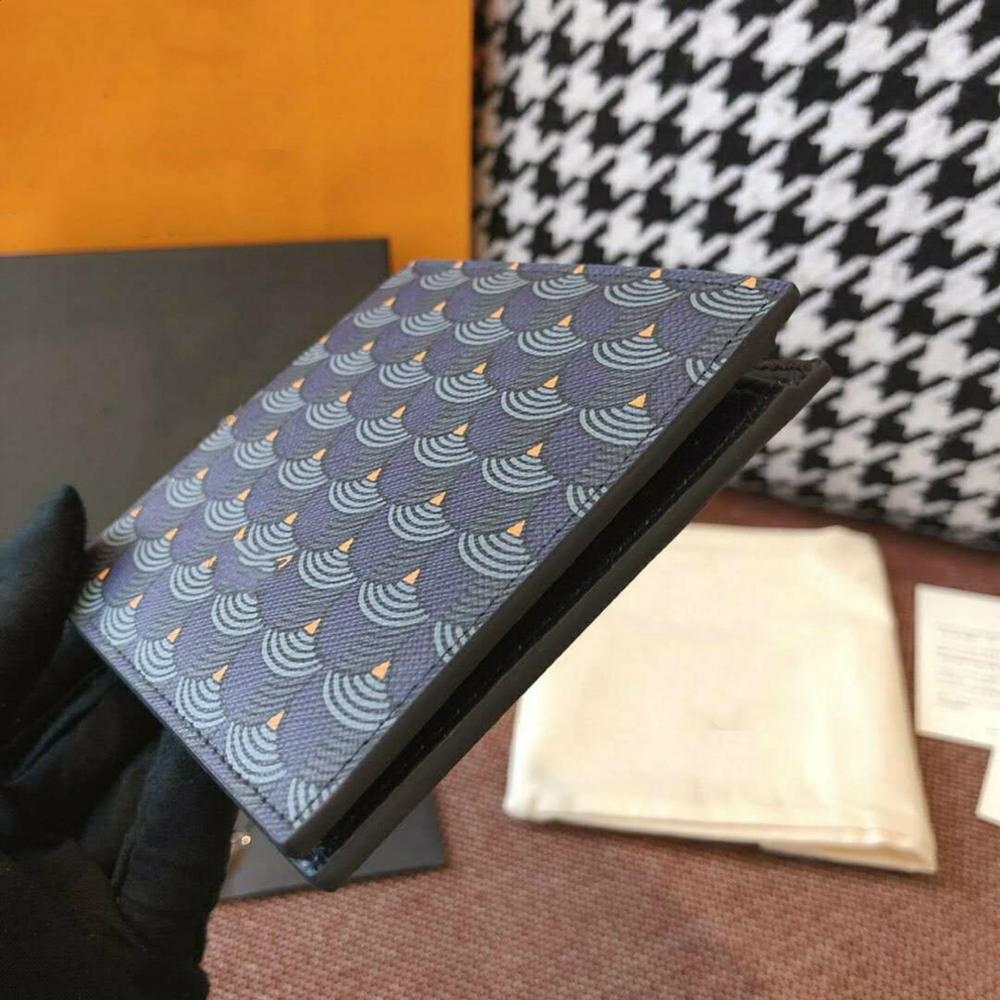 Carteira de Couro para Homens e Mulheres Novo Luxo Impresso Moda Personalidade Alta Qualidade Couro Curto Moeda Carteira 2021