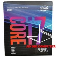 Nieuwe Originele Intel Core I7-8700 Processor Boxed I7-8700 12M Cache, Tot 4.60 Ghz Gratis Verzending