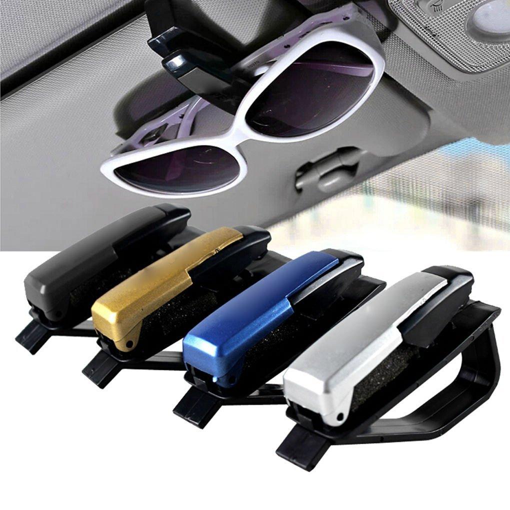 Автомобильный солнцезащитный козырек, зажимы для очков, держатель для солнцезащитных очков, портативный зажим для очков, универсальные авт...