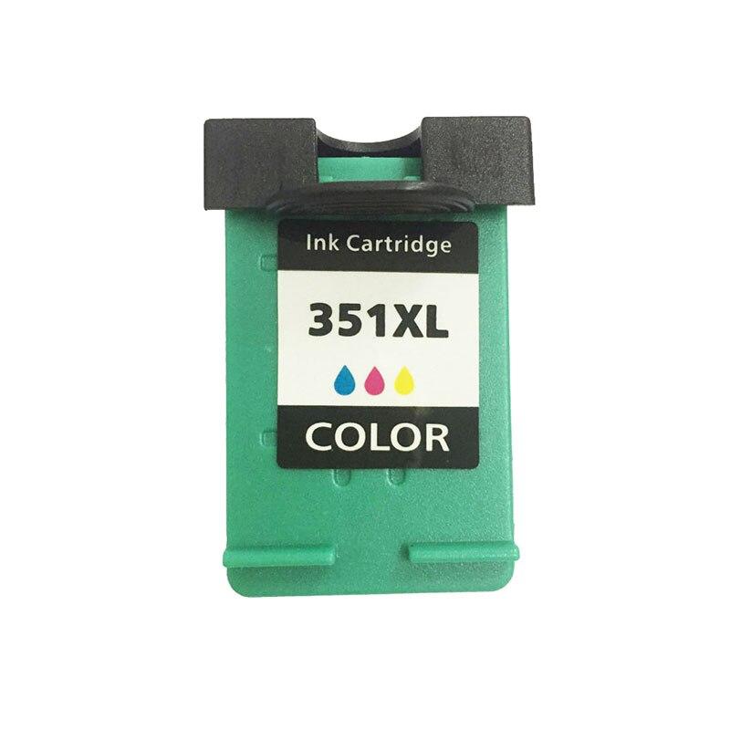 Reemplazo de cartucho de tinta Compatible einkshop 351XL para hp 351 xl Photosmart C4200 C4480 C4280 Officejet J5780 J5730