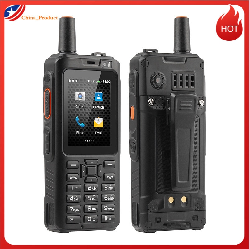 Рация UNIWA Alps F40 Zello, водонепроницаемая мобильный телефон, IP65, сенсорный экран 2,4 дюйма, 4G LTE, MTK6737M четыре ядра, 1 Гб + 8 Гб, смартфон