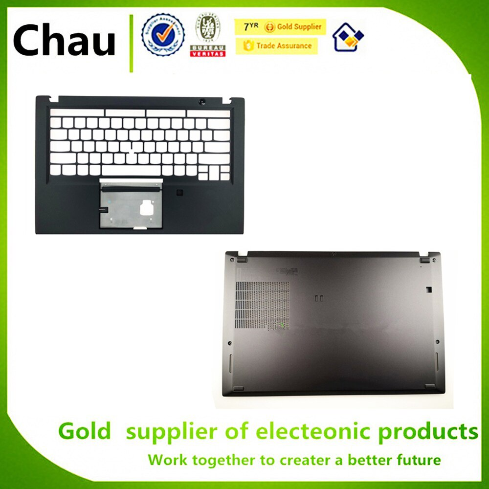 Nuevo para Lenovo ThinkPad T490S caja superior palmrester teclado Bezel carcasa superior FPR AM1BR000400/caja inferior Cov