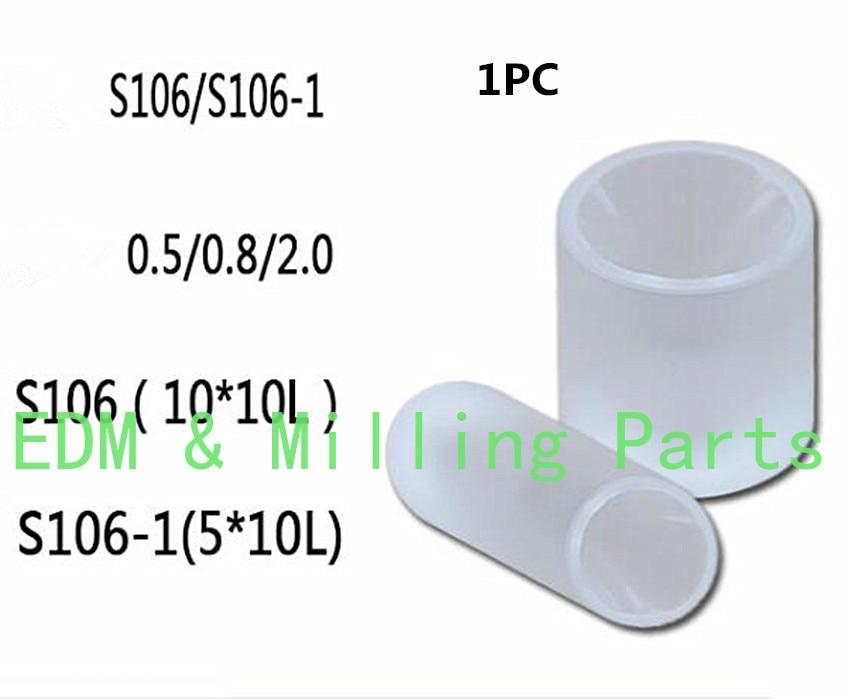 1 قطعة EDM سلك S106 S106-1 3082269 بمساعدة الياقوت دليل رمح 10x10 مللي متر 5X10mm 05/0.8/2.0 مللي متر ل CNC منتديات رابطة الأدب النمل آلة خدمة