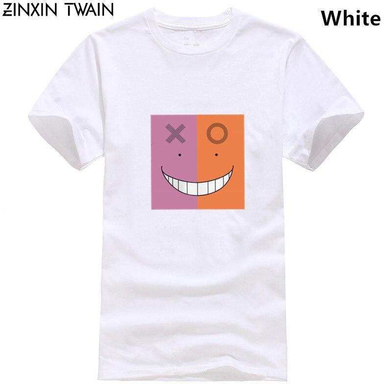 Camiseta de algodón para hombre de Assassination Classroom de Koro Sensei derecha o incorrecta, camiseta de manga corta Korosensei Clase 3 E de talla grande