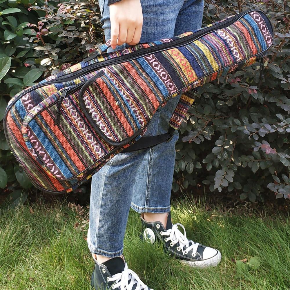 Waterproof Cotton Ukulele Bag Soft Case Gig  Oxford Cloth Ukelele Hawaii Four String Guitar Backpack FOR 23 inch