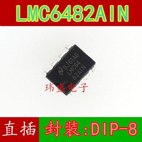 10 Uds LMC6482AIN DIP-8 LMC6482IN LMC6482