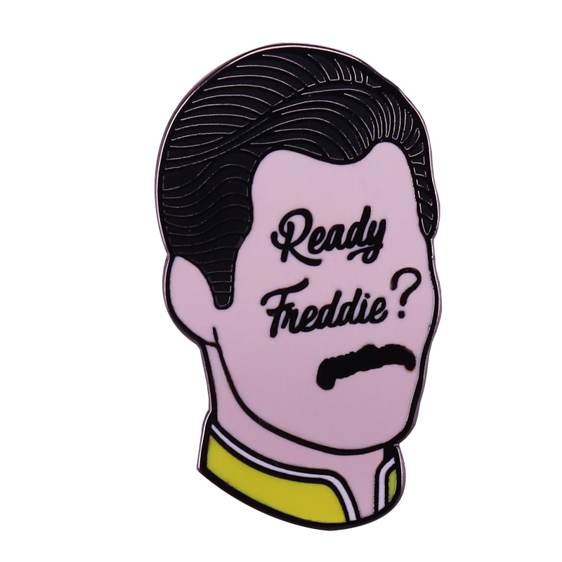 a Killer Queen looking for Somebody to Freddie lapel pin