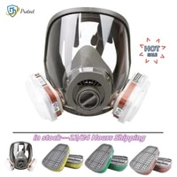 31517 in 1 gas mask 3 interface 6800 respirator dustproof full face filter 600160026004 5n11 welding spray paint pesticide
