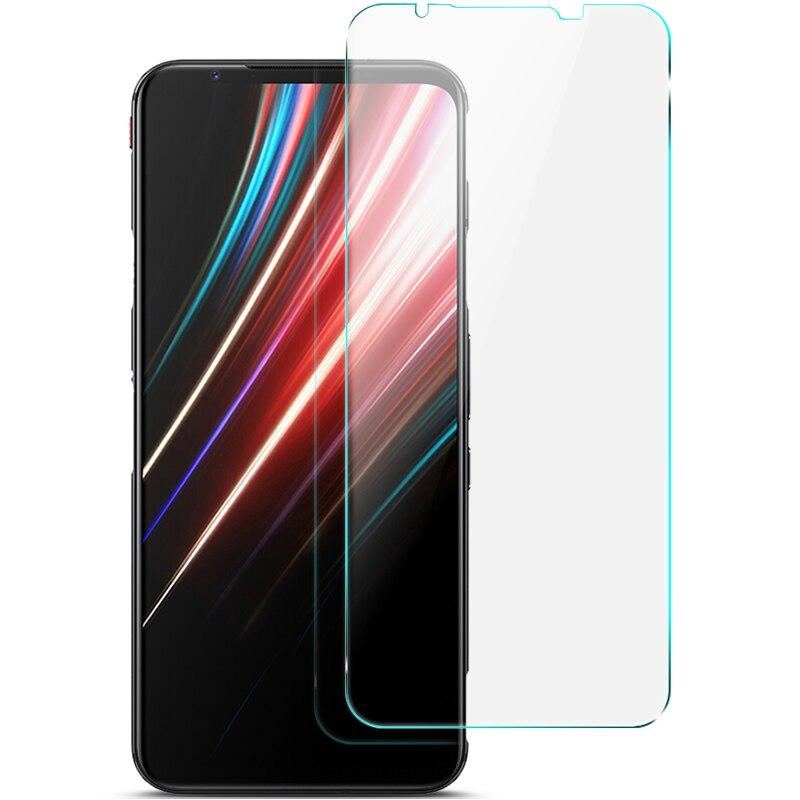 Para Nubia Red Magic 5G IMAK de vidrio templado transparente H Protector de pantalla de vidrio a prueba de explosiones para Nubia Red Magic 5G 5S