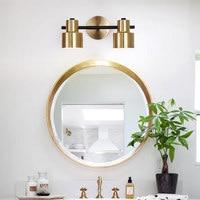 Modern 1 /2 /3 Heads led wall light Bathroom mirror light for home/bedroom/stair wandlamp Iron wall lamp