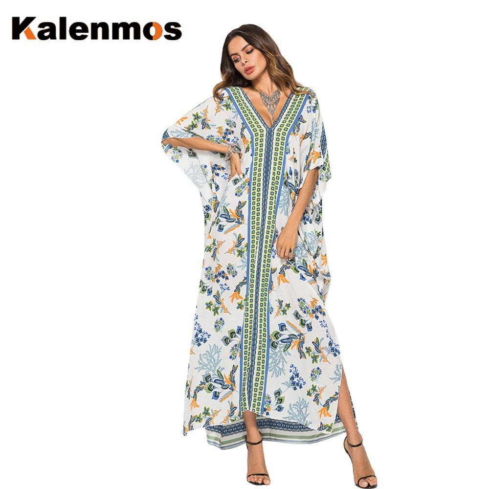 Dress Women Moroccan Abaya Turkish India Muslim Ribbon Spring Summer Ethnic Maxi Long Vestidos Dubai Islamic Party Kaftan Femme