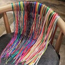 Colorful Hair Braiding String Tibetan Braid Rainbow Color Dirty Braid Hair Rope Braid Ponytail Ribbo