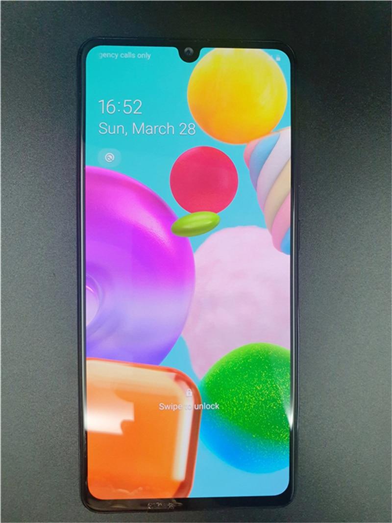 Samsung Galaxy A51 A515F/DS разблокировать телефон 6,5 дюйм 4 Гб 128 48 Мп Android сотовый телефон GPS Восьмиядерный мобильный телефон