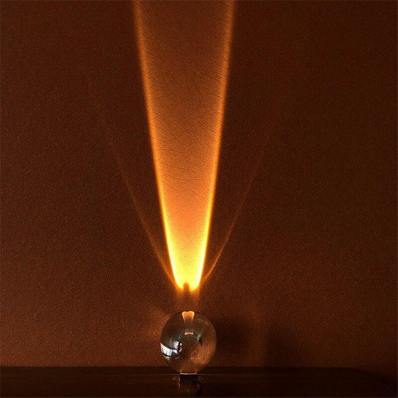 Egg-Shape Crystal Night Light Table Light Nordic Angle Eyes Projection Lamp Living Room Bedside Cabinet Design Art Decor Lights enlarge