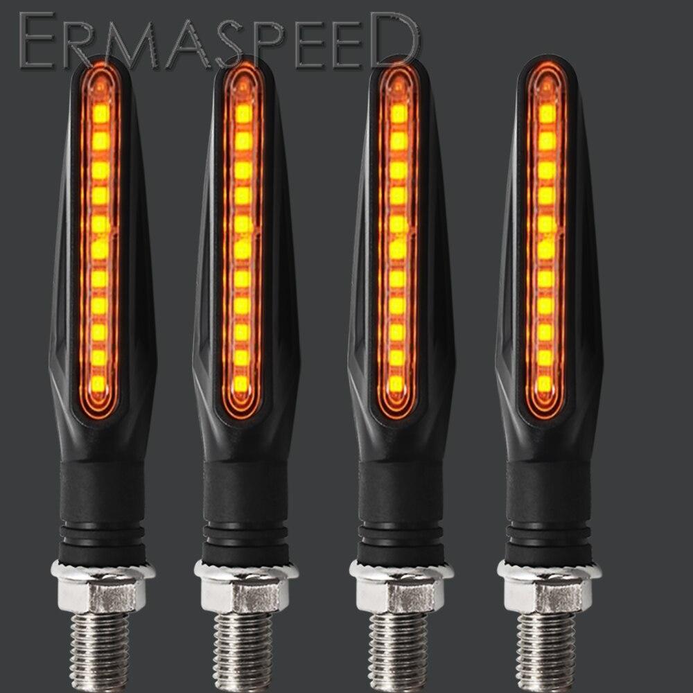 Для Yamaha mt 03 fazer 600 xvs1100 мотоциклетные поворотники LED ABS пластик Янтарный мигалка стоп сигнальная лампа мигалка аксессуары