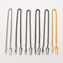 5 colors Pocket Watch Chain For Antique Quartz Women Men Vintage Pocket Watch Bronze Alloy Chain