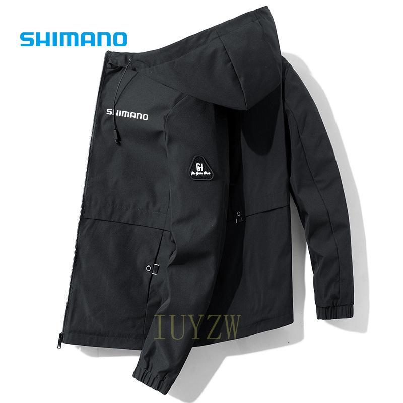 Куртка Shimanos для активного отдыха, спорта, рыбалки, ветрозащитная зимняя одежда для рыбалки, Мужская дышащая осенняя одежда для рыбалки