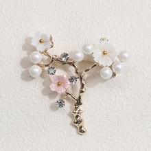 Vintage Brooch For Women's Gold Flower Pin Jewelry Party Office Clothes Scarf Buckle Garment Accesso