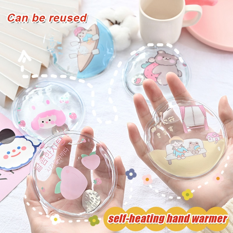 Christmas Valentine's Day Gift Creatives Hand Warmers Can Be Reused Rapid Self-Heating JA55 enlarge