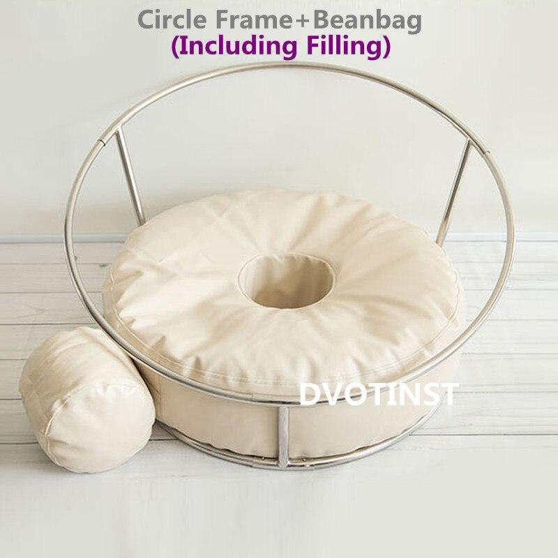 Dvotinst bebê recém-nascido fotografia adereços posando quadro beanbag conjunto de acessórios estúdio bebe poser travesseiro para recém-nascido foto prop