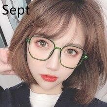 Sept  Optical Spectacle Eyeglasses Round Light Blocking Fashion Women MenVintage Glasses Blue Light