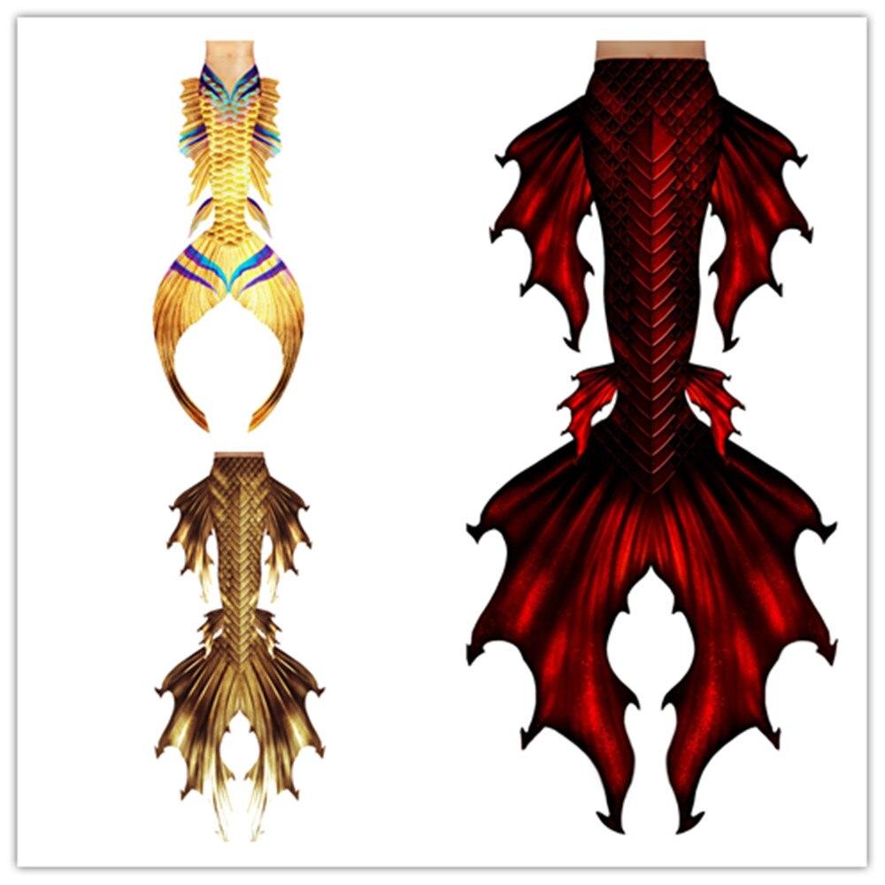 Cola de sirena pequeña Ariel personalizada para nadar, cola de sirena, disfraz para adulto, Cosplay, bañador para niñas, traje de baño Monofin