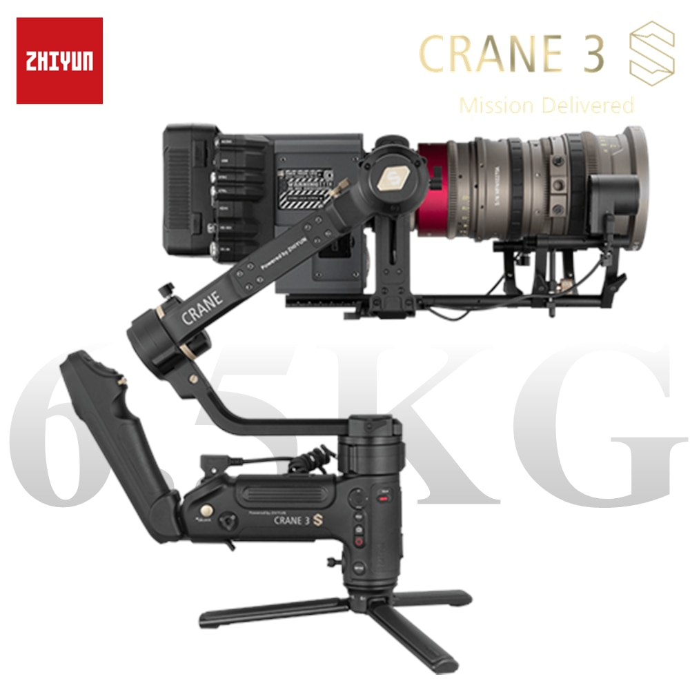 ZHIYUN Crane 3S 3-Axis Handheld Gimbal Wireless 1080P FHD Image Transmission Camera Stabilizer for DSLR Camera Gimbal Camera