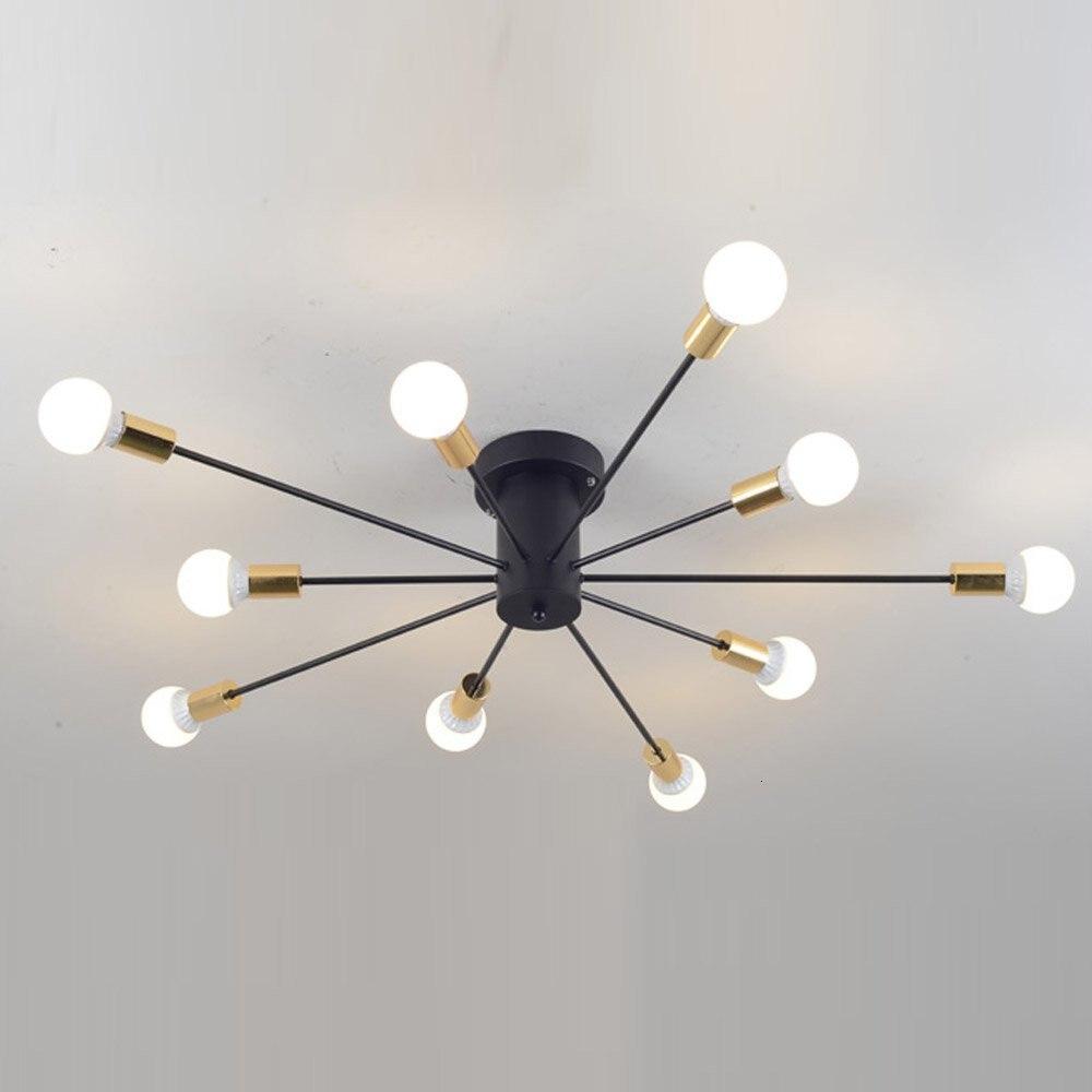 Lámpara de techo Retro Industrial, luces de techo modernas para comedor
