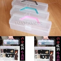 16 doll storage box outing bag portable outing box for 12 inch dolls in stock