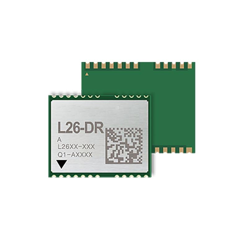 GNSS L26-DR L26DR GNSS модуль GPS, GLONASS, BeiDou, Galileo и QZSS сигналы Поддержка D GPS(RTCM)/SBAS (WAAS/EGNOS/MSAS/GAGAN)